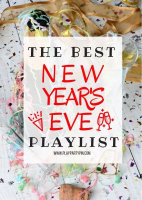 Looking for New Years Eve party ideas? This 2015 playlist is full of great music for a New Year's Eve party, everything from pop hits like One Direction to country songs from Carrie Underwood. Everything you need to keep your party moving and grooving! #3 is still one of my favorite 2015 songs!