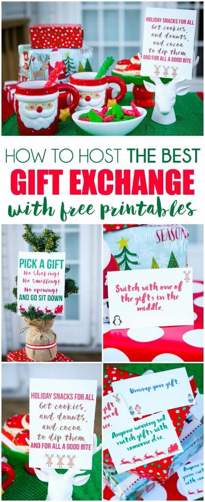 Christmas Gift Card Exchange Ideas All Ideas About
