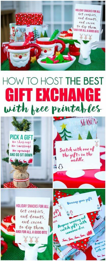 Creative Gift Exchange Game Idea | Free Printable Exchange ...