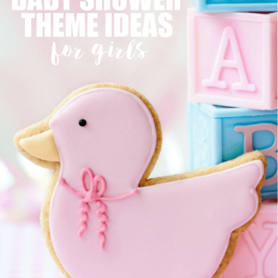 50+ Girl Baby Shower Themes
