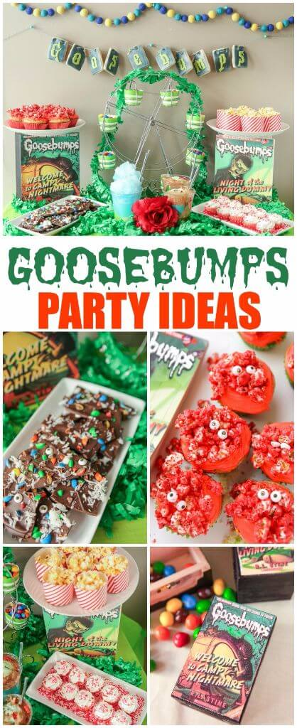 Goosebumps party ideas and 10 hilarious minute to win it games!