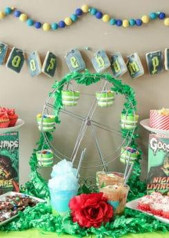 Goosebumps Halloween party ideas