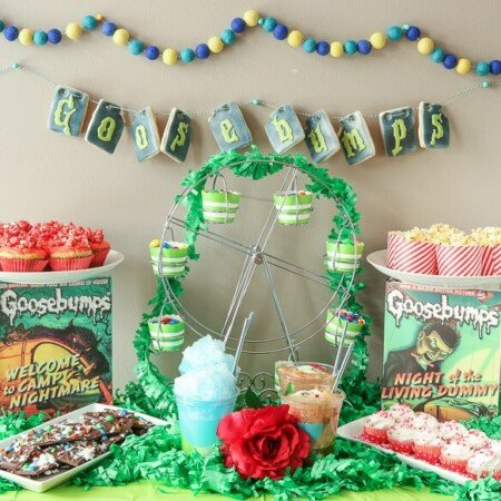 Goosebumps Halloween party ideas
