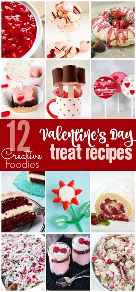 12 Amazing Valentine's Day dessert ideas everything from the best Oreo pops recipe to cheesecake dips! I can't wait to try that snack mix!