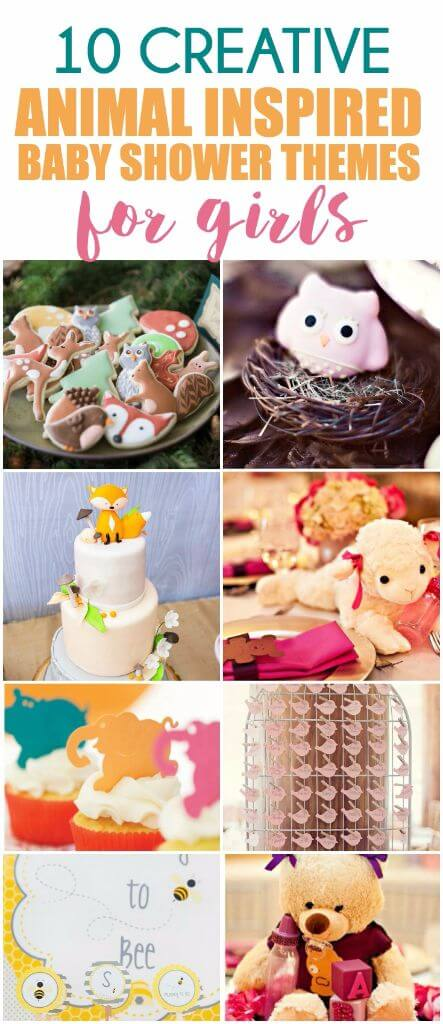 50 Girl Baby Shower Themes Play Party Plan
