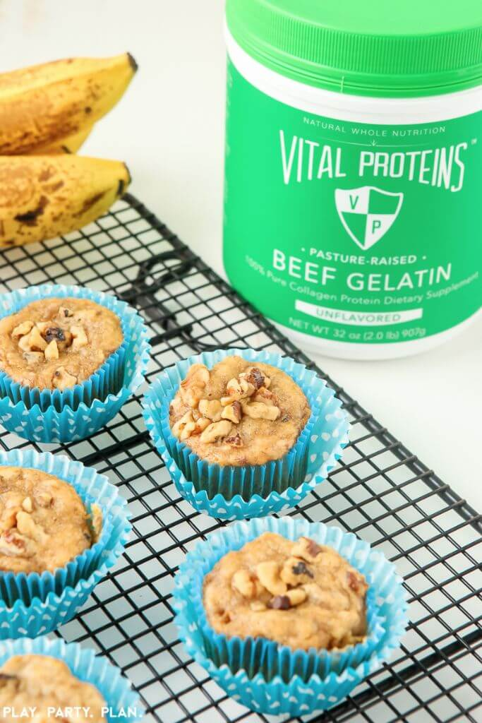 These easy banana muffins are a great egg-free breakfast option for busy families or anyone who loves great healthy recipes! Definitely one of the best healthy banana muffins I've ever tried, and perfect for someone on a sugar free diet who's only sticking with sugar free recipes! I still can't believe what the recipe uses as an egg substitute!