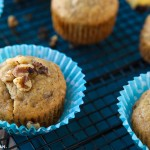 These easy banana muffins are a great egg-free breakfast option for busy families or anyone who loves great vegetarian recipes! Definitely one of the best healthy banana muffins I've ever tried, and perfect for someone on a sugar free diet who's only sticking with sugar free recipes! I still can't believe what the recipe uses as an egg substitute!