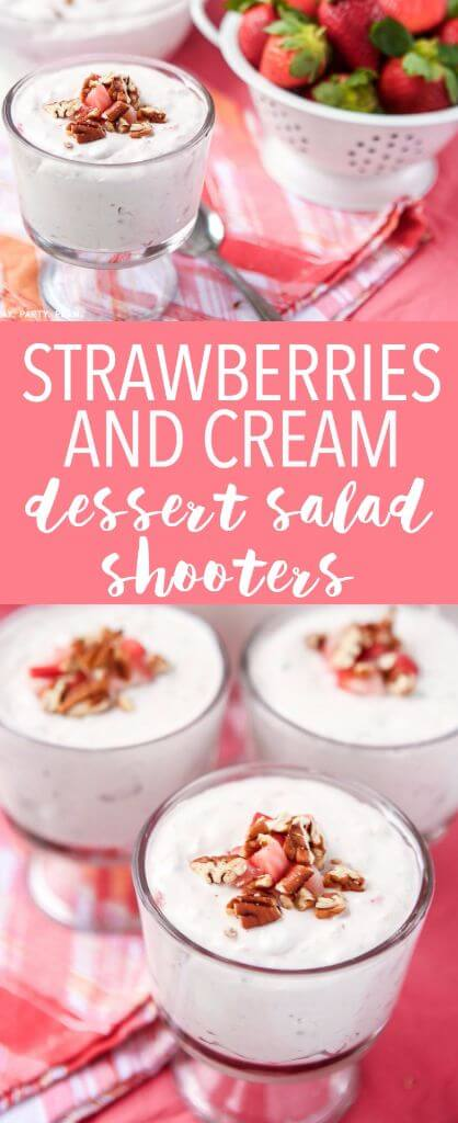 This simple strawberries and cream salad is one of the best Easter salads or Easter side dishes, with plenty of fruit mixed inside a creamy strawberry mixture. And I love how they get the additional crunch!