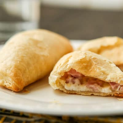 quick and easy ham and cheese empanadas that are perfect for a quick and delicious breakfast!