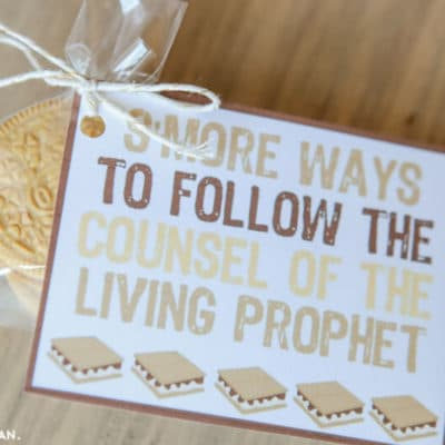 Come Follow Me: S'More Ways to Follow the Prophet Handout