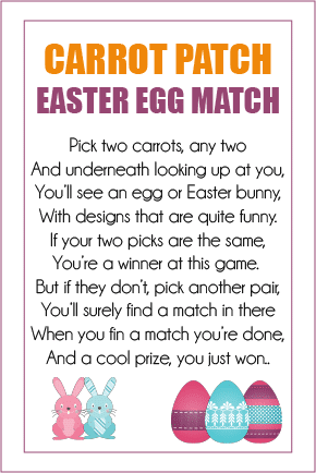 Free printable Easter party games that are perfect for kids of all ages! Print out the stickers, put them on the bottom of Hershey's kisses, and play away! I can't wait to try all three of these games with my kids!