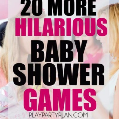 20 More Hilarious Baby Shower Games