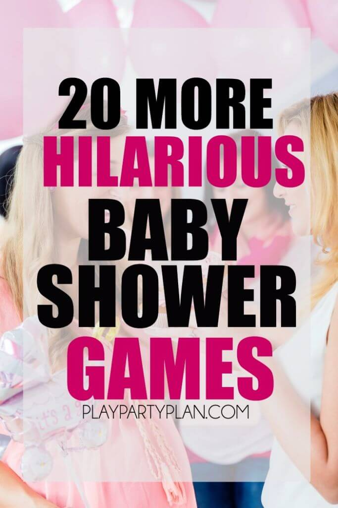 baby shower games with everything from active baby shower games