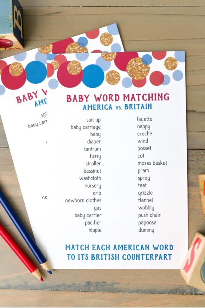 photo regarding Baby Shower Pass the Prize Rhyme Printable known as No cost Printable Youngster Shower Online games and Extra Game titles Absolutely everyone