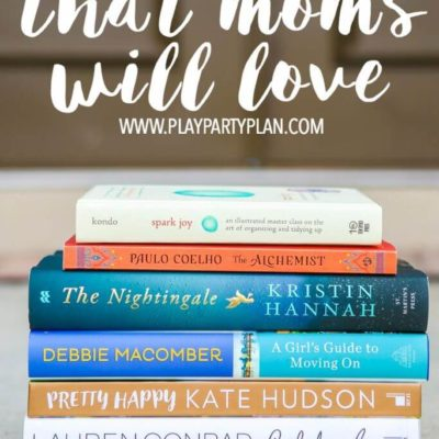 Mother's Day Gift Ideas: Books that Moms Will Love