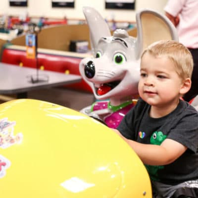 6 Surprisingly Awesome Reasons to Visit Chuck E. Cheese's Today