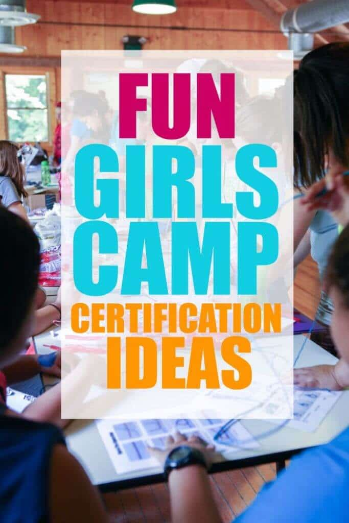 Girls Camp Certification Fair Activity Ideas Playrtyan