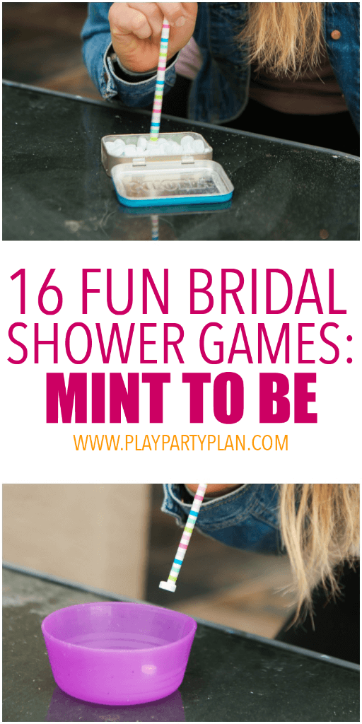 playing mint to be and other wedding shower games
