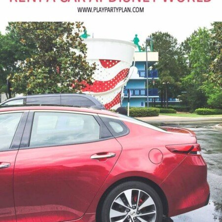 Should you rent a car at Disney World? 12 reasons you absolutely should!