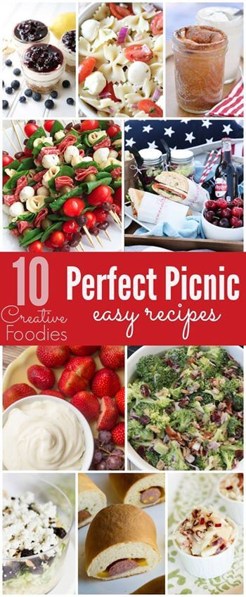 10 perfect picnic recipes, yummy and easy recipes that everyone will love!