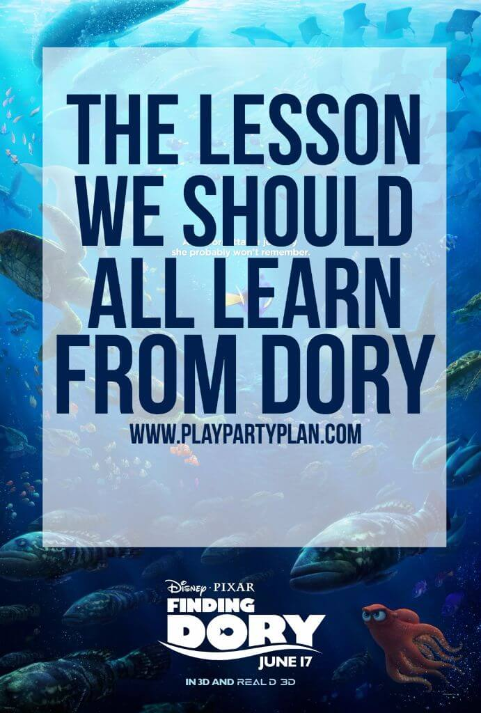 The lesson we can all learn from Finding Dory and other great reasons to see the movie