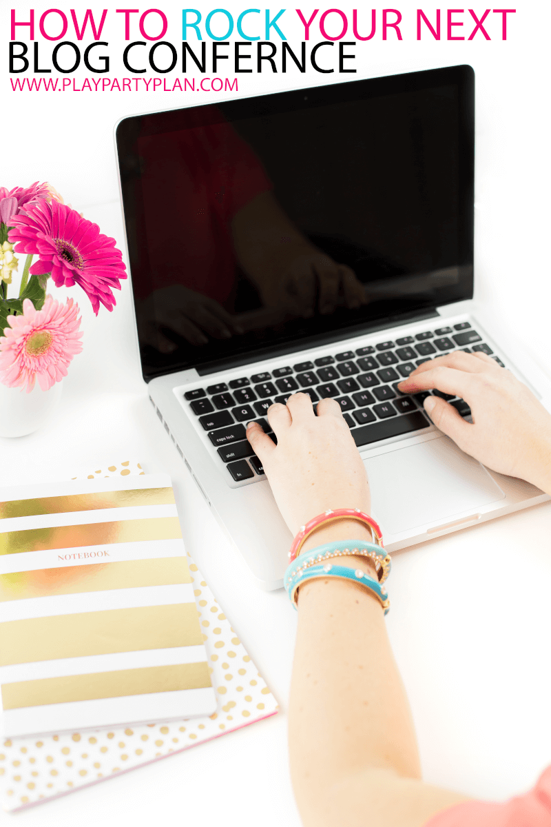 If you're blogging for money, make time to head to a blog conference. Love all of these tips to follow to get the most out of every blogging conference. Tips for putting together outfits, tips for beginners, sample business cards, and even a little blog rebrand 101!