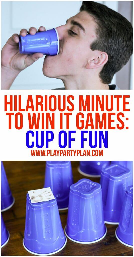 10 of the funniest minute to win it games ever these are perfect for kids