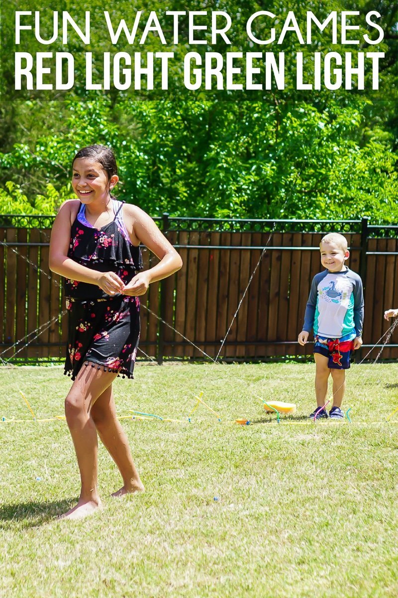Fun water games to play in the sprinklers during summer