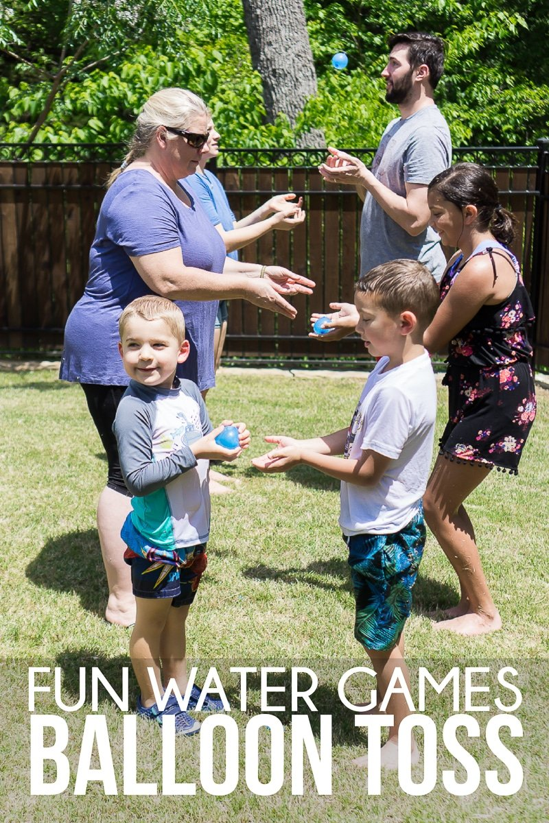 One of the easiest water games for adults and kids