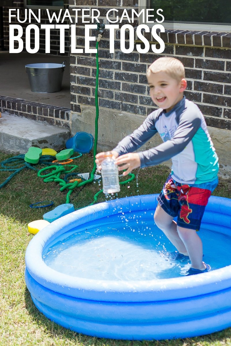 These group water games for kids are great