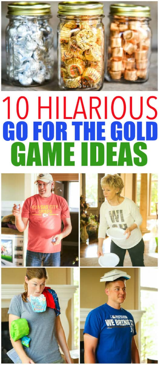 Olympic Party Games and Prize Ideas