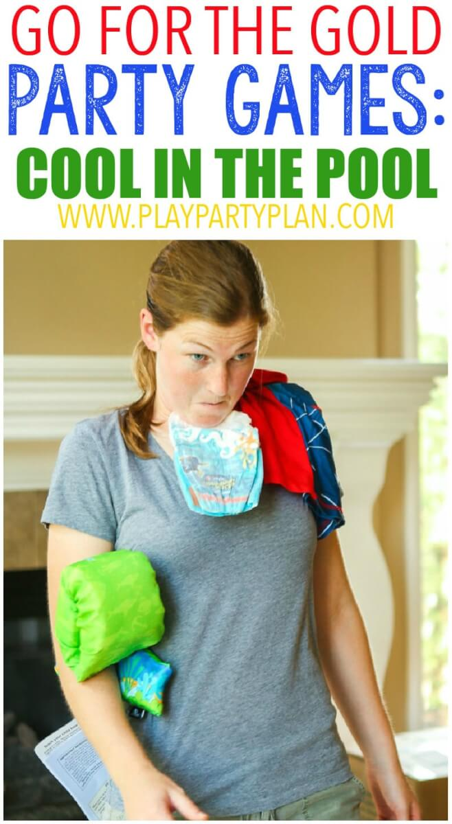10 hilarious Olympic party games that are perfect for getting ready for the 2016 summer games in Rio! Fun for kids, for teens, and even for adults! Tons of simple minute to win it style activities that use things around the house. And for your winners? Chocolate Olympic medals! I can't wait to try the household triathlon.