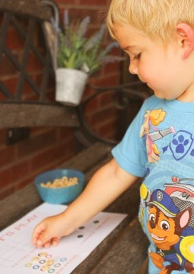 Free Printable Activity Placemats for Toddlers