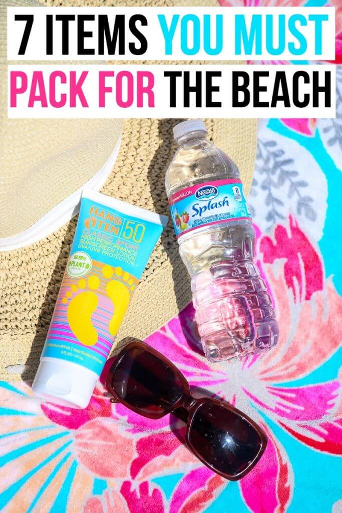 7 Items You Should Always Pack for the Beach to Have a ...