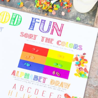 Fun Back to School Ideas: Printable Activity Placemats