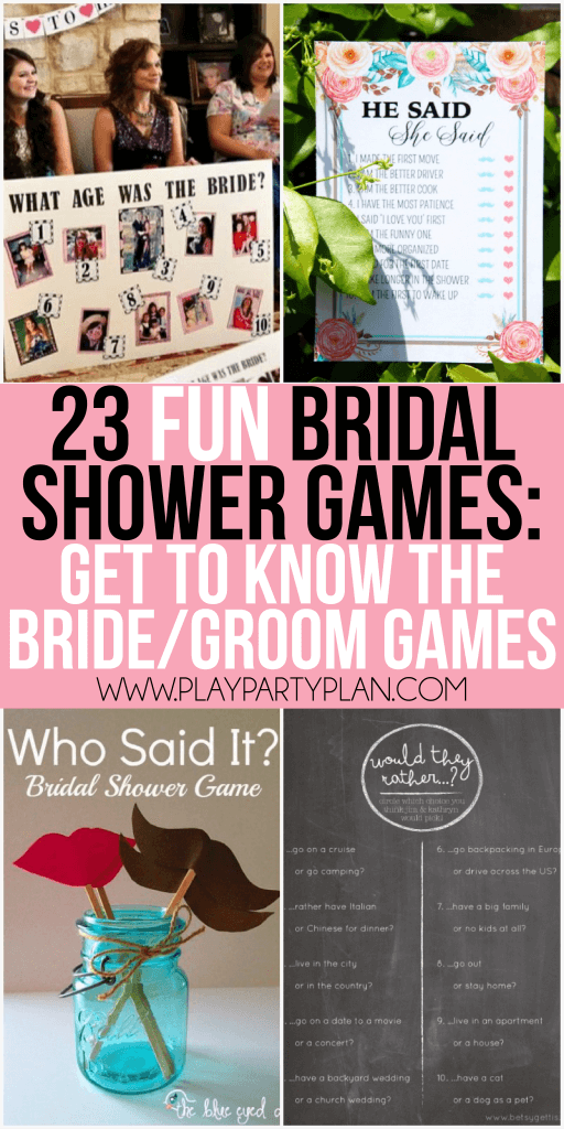 23 more funny bridal shower games that dont suck including everything from games for