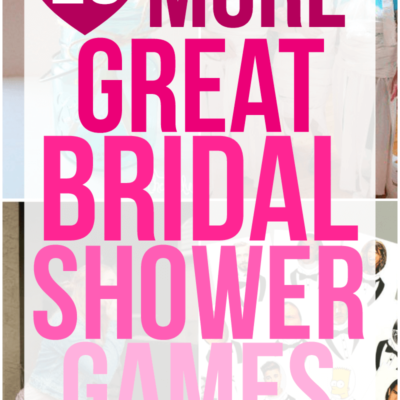 23 More Fun Bridal Shower Games