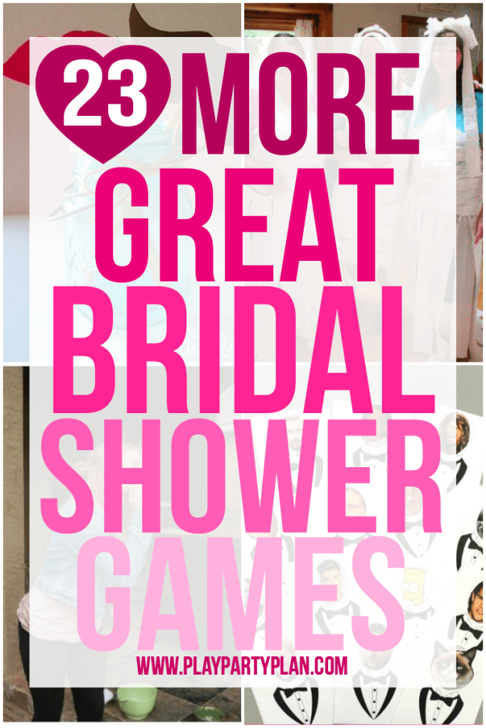 picture about Bridal Shower Games Free Printable called 23 Much more Enjoyable Bridal Shower Online games - Enjoy.Social gathering.System