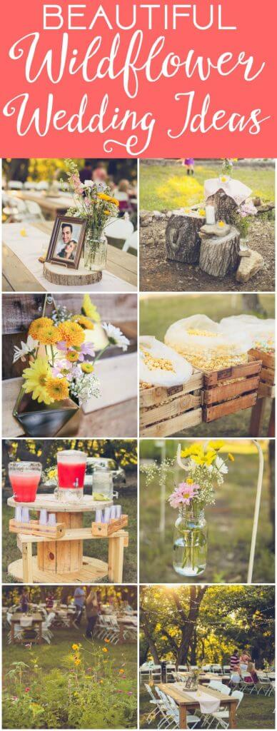 So many beautiful bohemian wedding ideas with everything from a cake to outdoor reception ideas. I love all of the colors, the photography, and the DIY wall filled with flowers and photos. So many fun vintage decorations like the gorgeous centerpieces and that popcorn bar with al the colors, beautiful!
