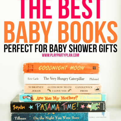 25+ of the Best Books for Baby Showers
