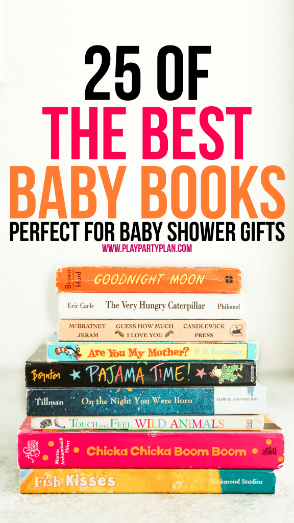 the best books for baby showers