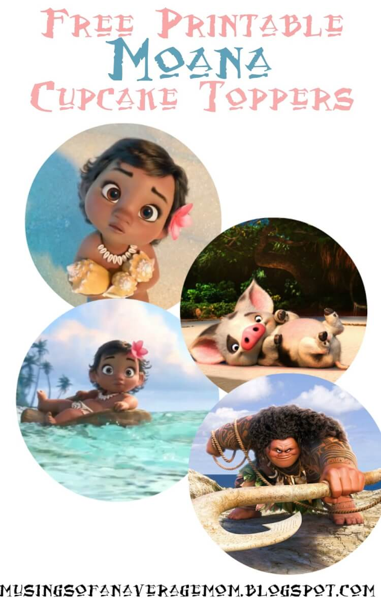 Selective image with moana printable