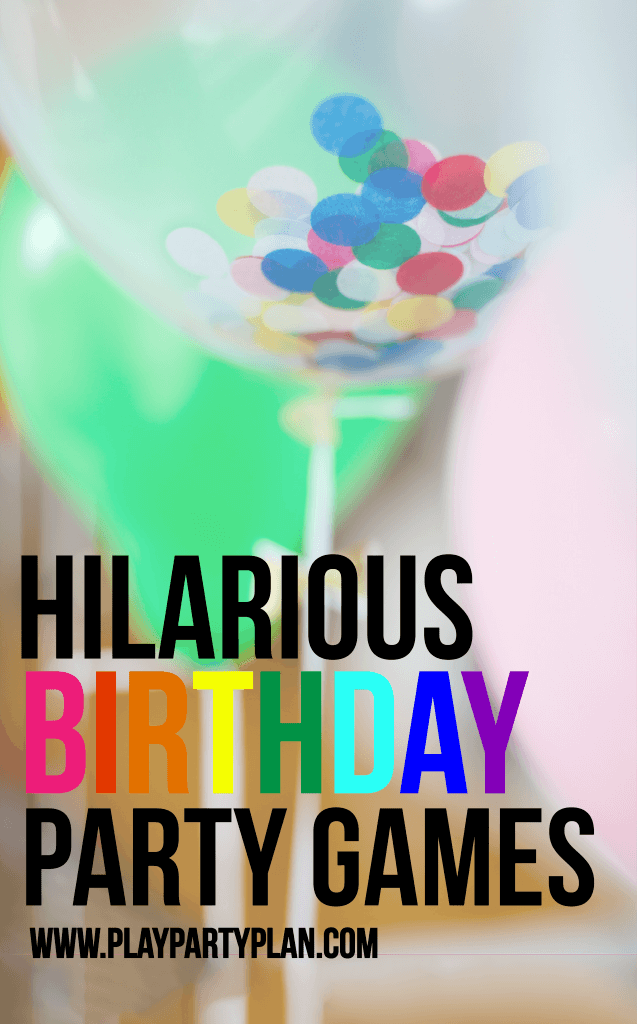 These Hilarious Birthday Party Games Are Great For Teens And Even Toddlers