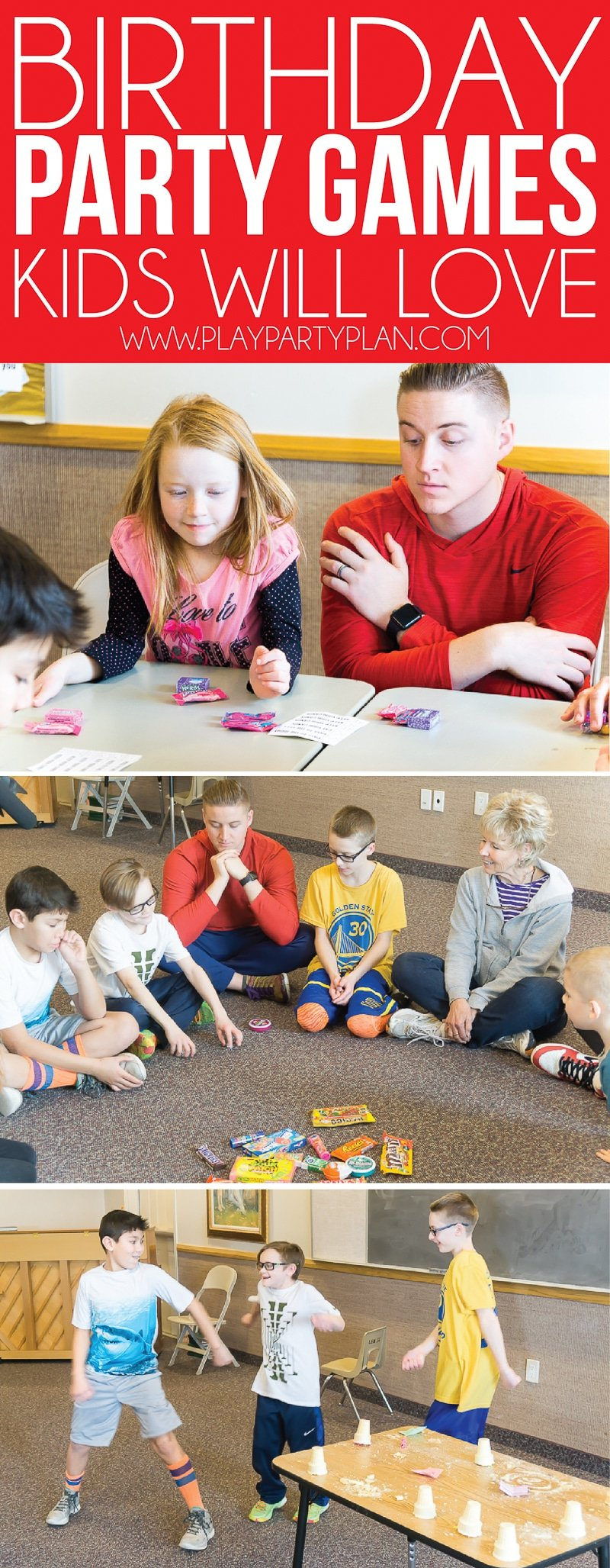Fun birthday party games for kids, for teens, and even for adults! You can play these indoor or outdoor and unlike unicorn games, these games for boys or for girls!