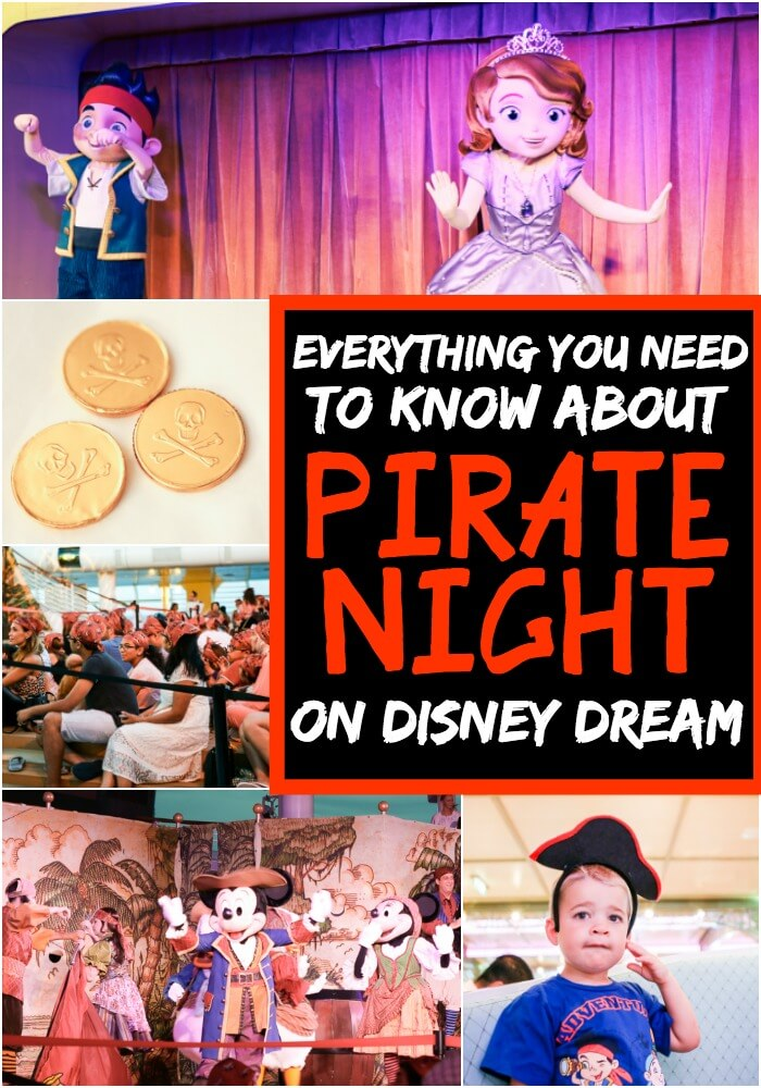 Awesome ways to celebrate pirate night on your next Disney cruise! Everything from fun costume and outfit ideas to products you don't need to bring with you! I know my kids will love the pirate and princess party!