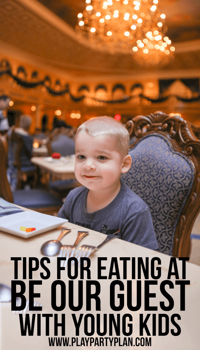 Be Our Guest is one of the most popular Walt Disney World restaurants and for good reason. But it can be a little scary for young kids if you're not careful. Check out these tips for visiting with young kids including what to eat (and skip), where to sit, and when to go!
