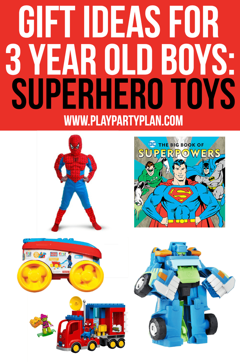 The absolute best toys for 3 year old boys who love superheroes