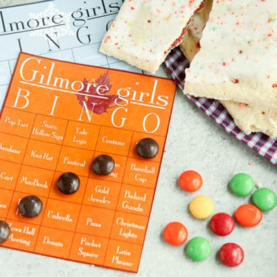 Free Printable Gilmore Girls Bingo Cards