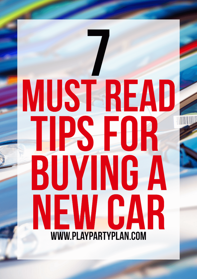 Seven of the best tips for buying a car whether it be new or used. First time buy a car? No problem, this checklist will walk you through how to buy a car from deciding how much money to spend to questions to ask yourself before you buy. And funny enough, it even works for people with bad credit looking for vehicles to buy!