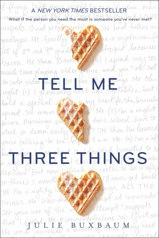 Cover of the book Tell Me Three Things